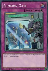 YuGiOh! TCG karta: Summon Gate