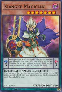 YuGiOh! TCG karta: Xiangke Magician