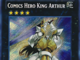 Comics Hero King Arthur