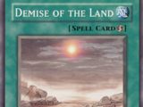Demise of the Land