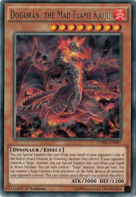 Dogoran the Mad Flame Kaiju CORE
