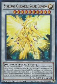 YuGiOh! TCG karta: Stardust Chronicle Spark Dragon