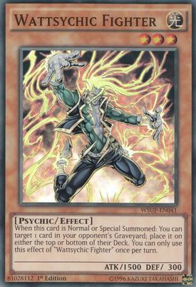 Wattsychic Fighter WSUP