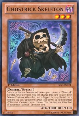 Ghostrick Skeleton LVAL
