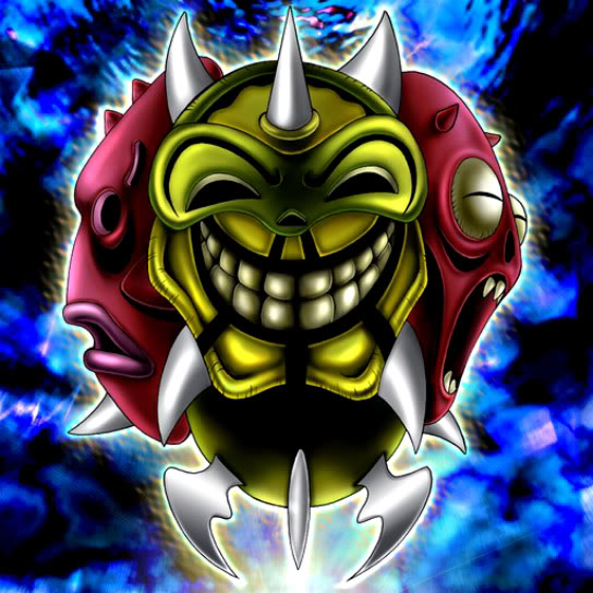 Genex Army Yugioh Fandom Powered By Wikia: Card Artworks:Melchid The Four-Face Beast