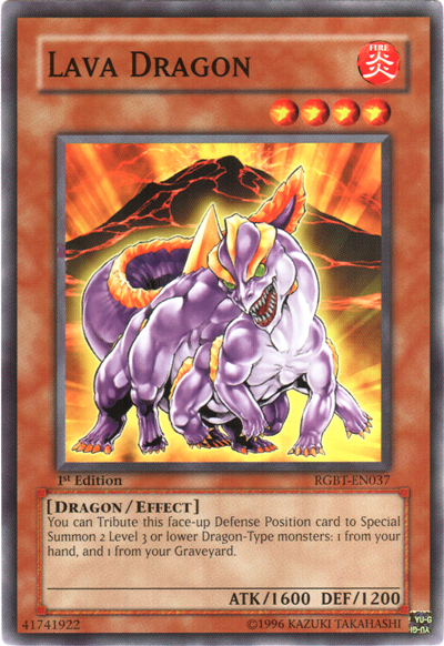yugioh duel links how to get lava golem