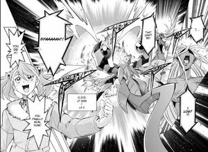 Yuzu cheers upon defeat of GOD