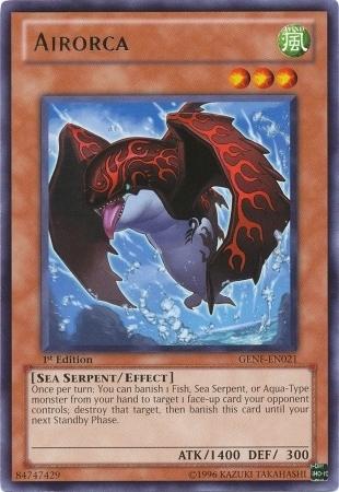YU-GI-OH AIRORCA BP03-EN087-1st EDITION
