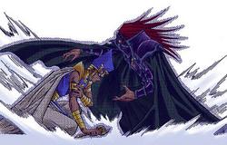 Akhenaden takes Seto