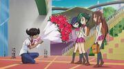 Alit giving Tori Flower