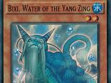 Bixi, Water of the Yang Zing