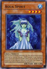 YuGiOh! TCG karta: Aqua Spirit