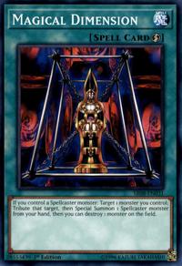 YuGiOh! TCG karta: Magical Dimension