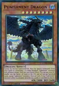 YuGiOh! TCG karta: Punishment Dragon