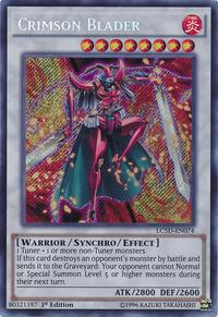 YuGiOh! TCG karta: Crimson Blader