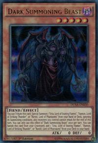 YuGiOh! TCG karta: Dark Summoning Beast