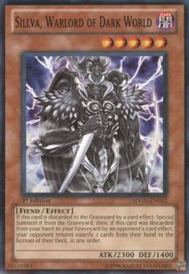 Sillva, Warlord of Dark World SDGU