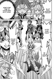 Yuya's teamwork with brothers causes him to win