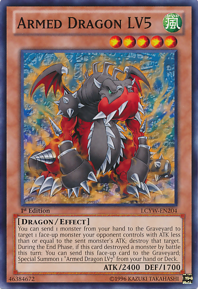 Armed Dragon LV5 | Yu-Gi-Oh! | FANDOM powered by Wikia
