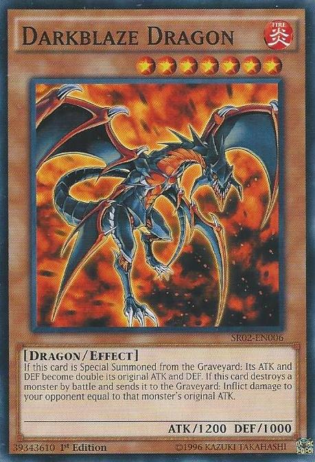 Darkblaze Dragon | Yu-Gi-Oh! | FANDOM powered by WikiaBlack Fire Dragon Yugioh