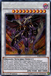 YuGiOh! TCG karta: Hot Red Dragon Archfiend Bane