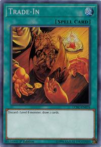 YuGiOh! TCG karta: Trade-In