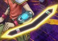 Yuya Sakaki's Synchro Dimension Duel Disk