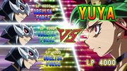 Yuya VS Obelisk Force