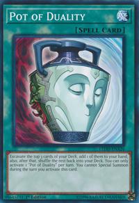 YuGiOh! TCG karta: Pot of Duality