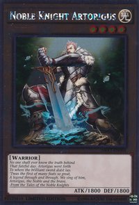 YuGiOh! TCG karta: Noble Knight Artorigus