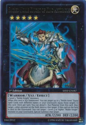 Sacred Noble Knight of King Artorigus SHSP