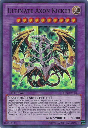 Ultimate Axon Kicker | Yu-Gi-Oh! | FANDOM powered by Wikia Yugioh Fusion Dragon Monsters