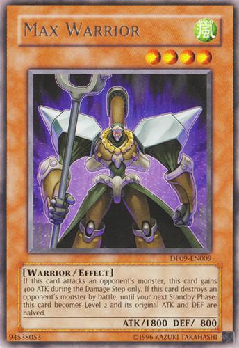 max warrior yugioh fandom powered by wikia
