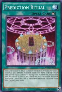 YuGiOh! TCG karta: Prediction Ritual