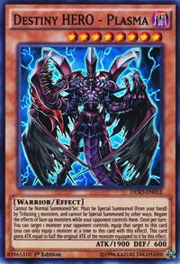 YuGiOh! TCG karta: Destiny HERO - Plasma