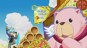Fluffal Bear Switched to DEF From Effect of Candy Shower