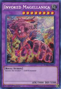 YuGiOh! TCG karta: Invoked Magellanica