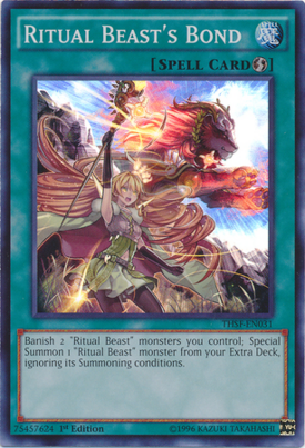 Ritual Beasts Bond THSF