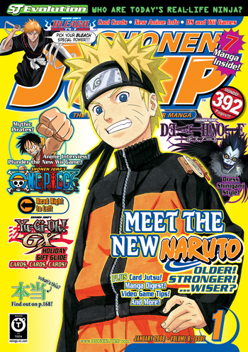 <i>Shonen Jump</i> Vol. 6, Issue 1