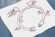 5Dx027 Yanagi's sketch