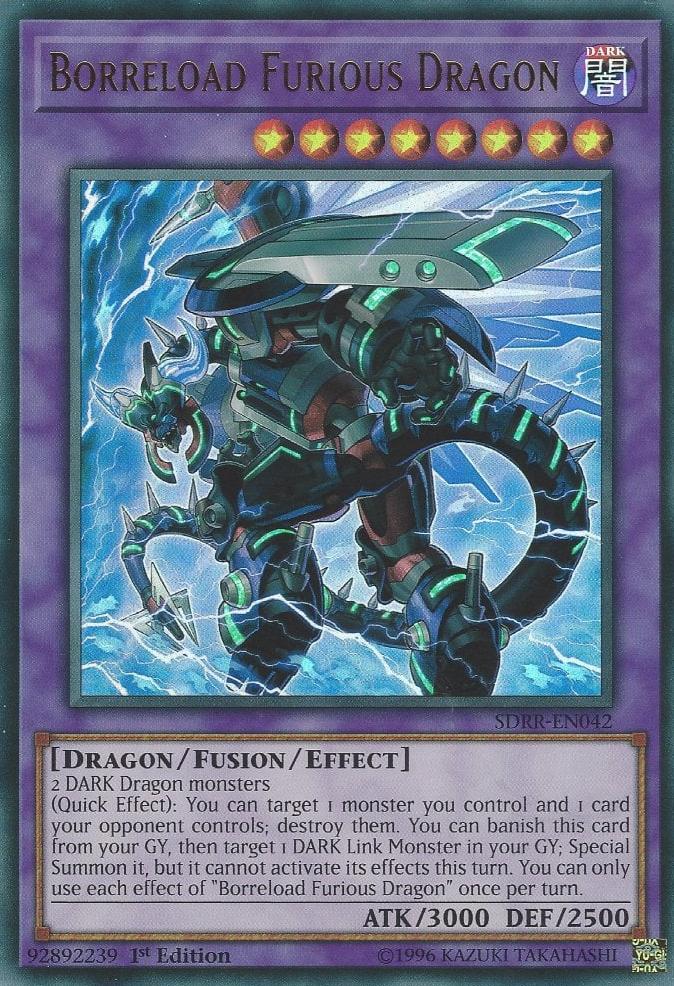 Borreload Furious Dragon | Yu-Gi-Oh! | FANDOM powered by Wikia