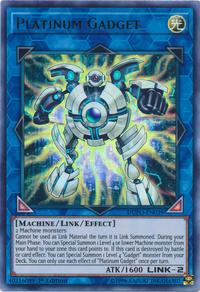 YuGiOh! TCG karta: Platinum Gadget