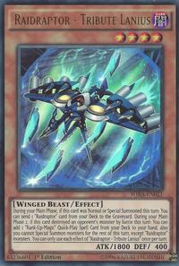YuGiOh! TCG karta: Raidraptor - Tribute Lanius