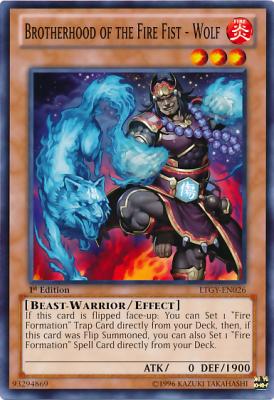 Fire Fist Wolf LTGY
