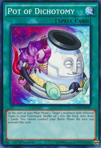 YuGiOh! TCG karta: Pot of Dichotomy
