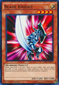 YuGiOh! TCG karta: Blade Knight