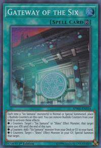 YuGiOh! TCG karta: Gateway of the Six
