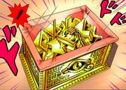 Millennium Puzzle box open