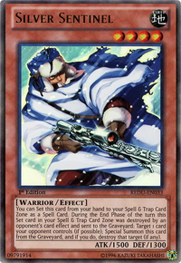 YuGiOh! TCG karta: Silver Sentinel