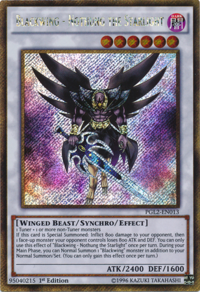 YuGiOh! TCG karta: Blackwing - Nothung the Starlight